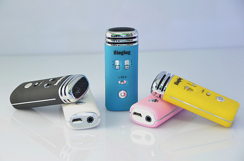 hot selling portable Mini karaoke player with custom logo,custom size,custom color,OEM orders are welcome