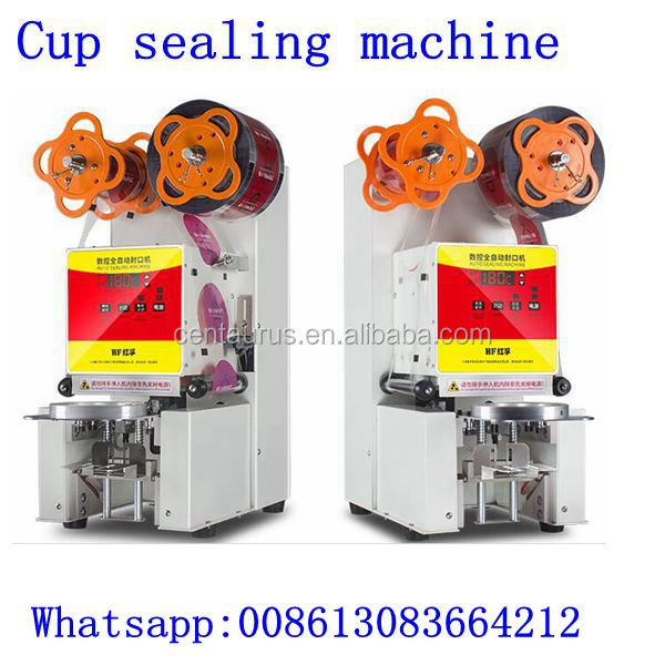 Manual/semi automatic desktop automatic bucket cup sealing machine /tin can sealer