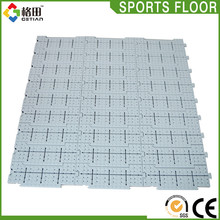 CE Standard Guangzhou factory supply pp interlocking outdoor plastic flooring tiles event