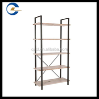 Alibaba trade assurance metal and wood shelves/goods shelf/display stands