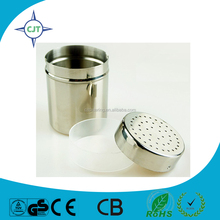 nice design with mesh top salt shaker powder shaker hot sale