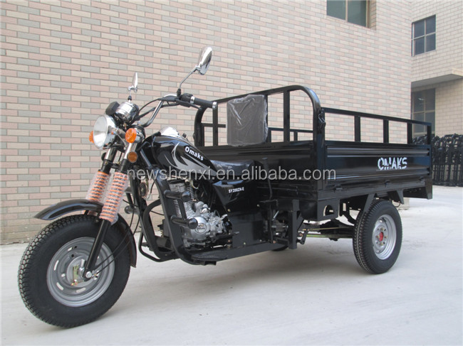 High Quality Petrol Three Wheel Motorcycle China Cargo Tricycle