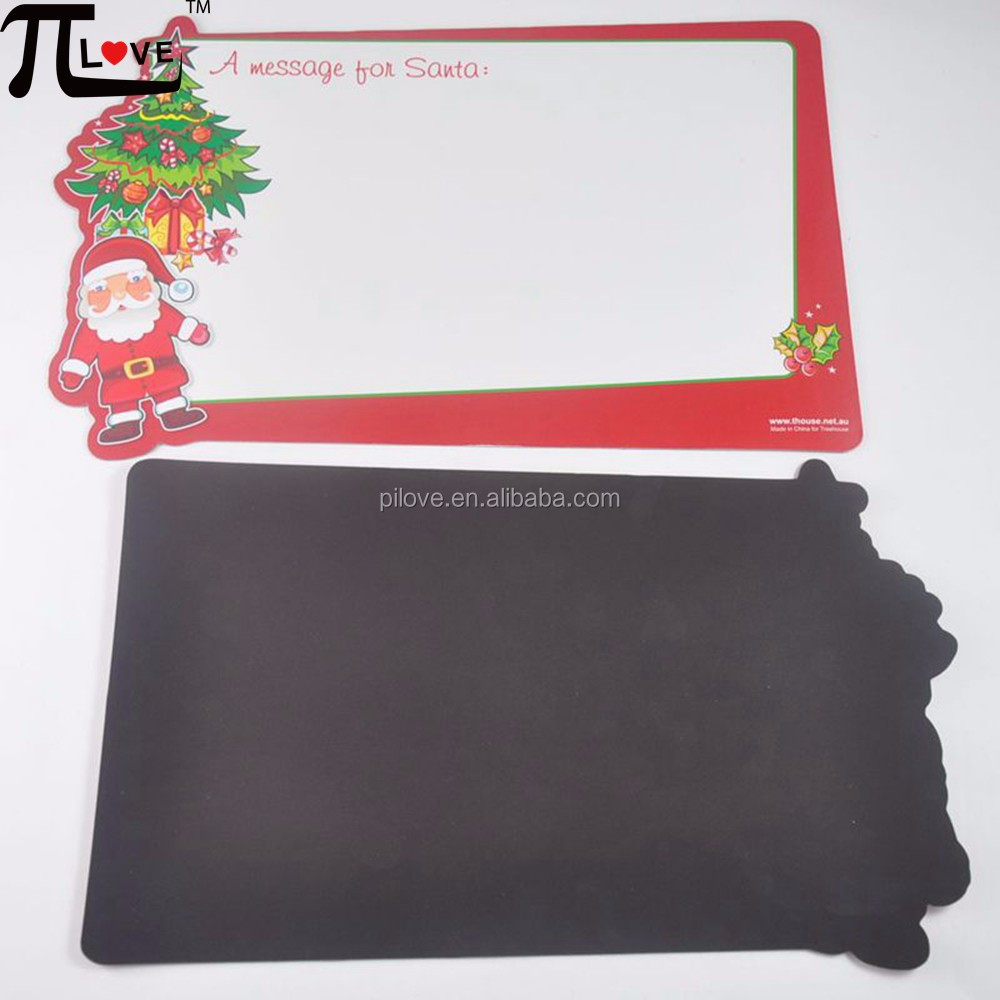 My Christmas shopping list customized flexible magnet erasable shopping list board