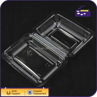 Top Quality Rectangle box packing blister Material Food Packaging Container plastic Biscuit box