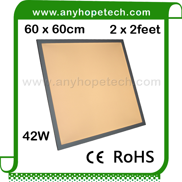 Super Warm 2700K high cri 60 60cm 42W Acrylic Edge Lit LED Panels