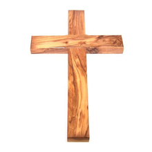 wood cross for prayer and blessing