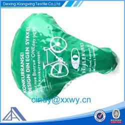 Customized logo bike seat cover/bike saddle cover