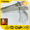 4'' household tools stainless steel tip tweezers for candlewick