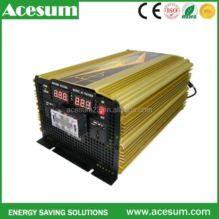 Power inverter solar pump system solar panel with charge controller converter power backup panel system for farm