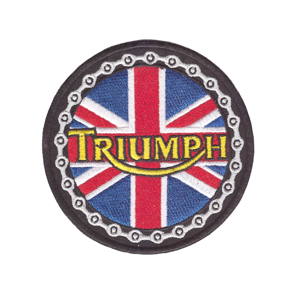 2018 Brand Triumph LOGO British Vintage Motorcycle Jacket Patch