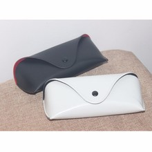 new arrival top quality fancy glasses case leather sunglass case pu