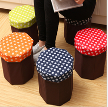 multifunctional Folding non-woven shoes stool / clothes storage box / Folding non woven storage Box for clothes