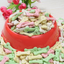 YIDA pet food healthy snacks bone shaped 500g dog biscuits