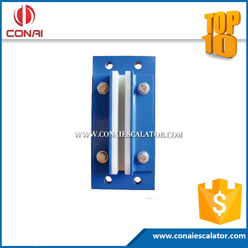 CNEP-320 Elevator Part1.75 m/s rated speed elevator sliding guide shoe in 10/16mm width of guide, good price lift part