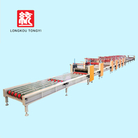 Building materials popular fireproof material mgo board production line decorative mgo board making machine