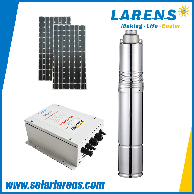 Price of total Stainless Steel DC Submersible Solar water Pump with Helical Rotor Structure