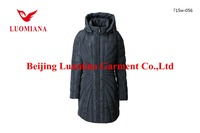 wholesale plus size XXXXXL women thickening dropshipping winter long down coats with hood manufacturer garment