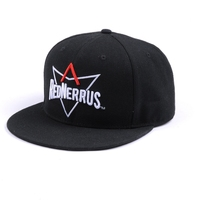 Design your Own Logo Custom Fitted 6 Panel Hat Snap Back Wholesale
