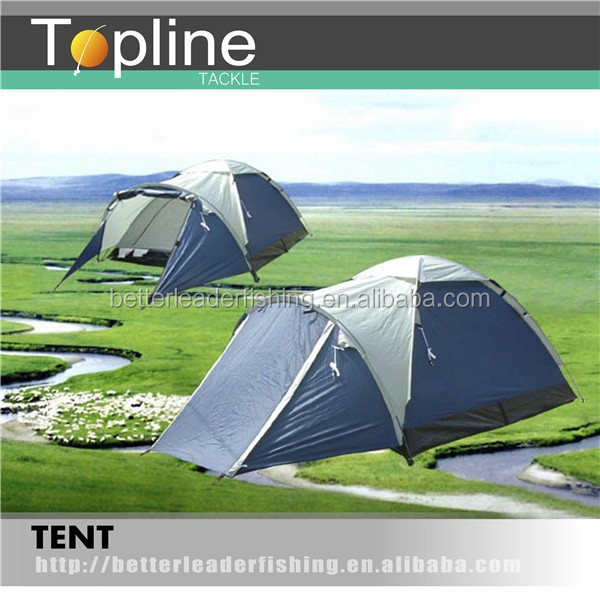 2 room family tent, 6 Person family camping tent