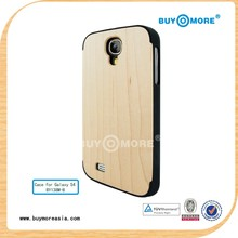 new design new products wooden mobile phone casing for Galaxy S4 i9500
