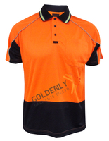 T/C Men's HI-VISI S/S safety polo shirt