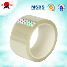 clear duct bopp printed adhesive packaging tape