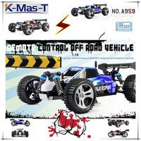 2.4 Ghz Control RC Buggy RC Truck with 4WD 1:18 Full proportional off-Road Vechicle