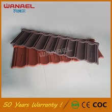 High Quality New Zealand Technology Stone Coated Metal Roof Tiles Sound Insulation Chinese Zinc Galvanized Roof Tiles