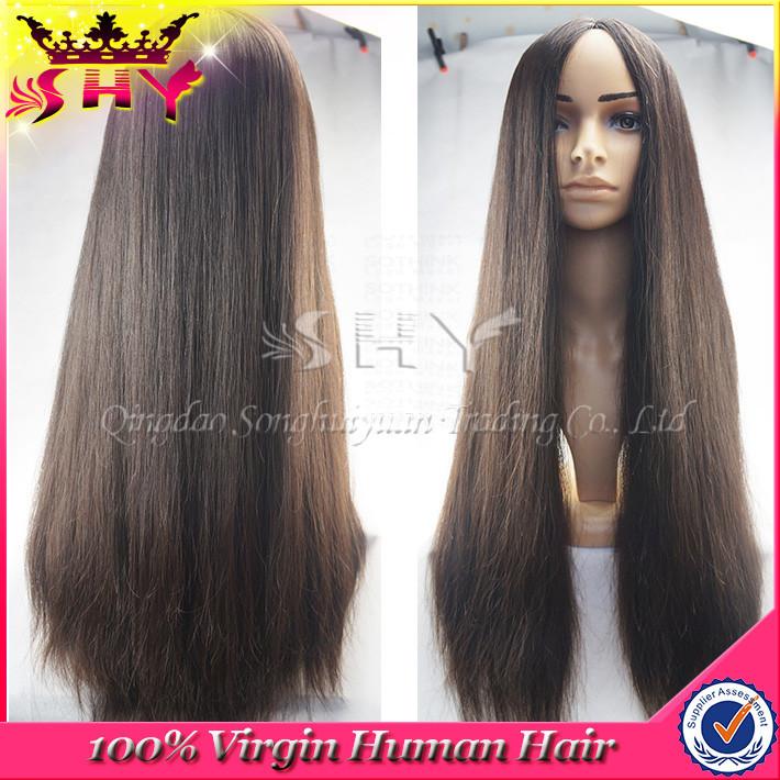 Wholesale Silky Straight 28inches Virgin Human Hair Silk