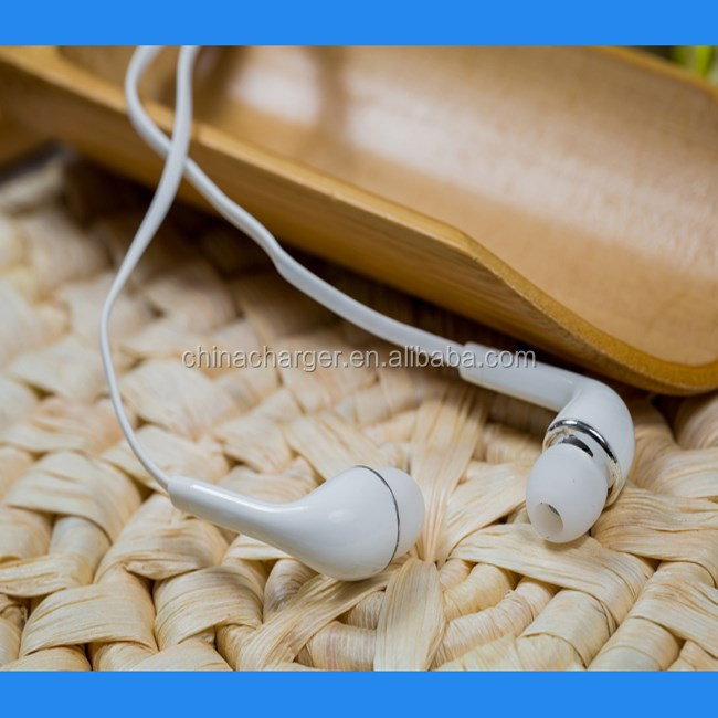 RHOS CE approval J5 earphone with mic for samsung galaxy S4 mobile used