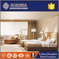New classic luxury las vegas bedroom suites furniture for 4 star hotel