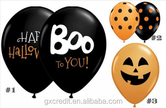 2015 New Design High Quality Halloween Celebration Balloon For Decoration
