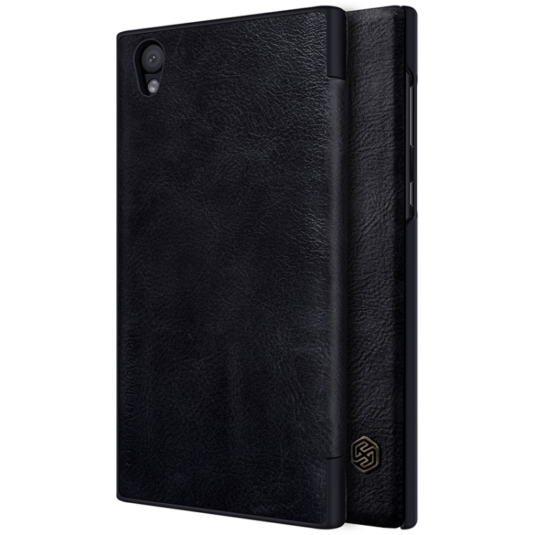 2018 New OEM for Sony Xperia <strong>L1</strong> Crazy Horse Texture Horizontal Flip Leather Case with Card Slot