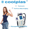 korea Kryolipolyse Top Selling Fat Freezing Cooltech /criolipolisis Cool Body Sculpting Machines With 3 Cryo Handle