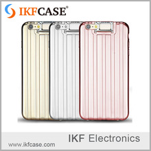 Luxury Plating 3D Suitcase Phone Cover, TPU Silicone Case For Iphone 6s