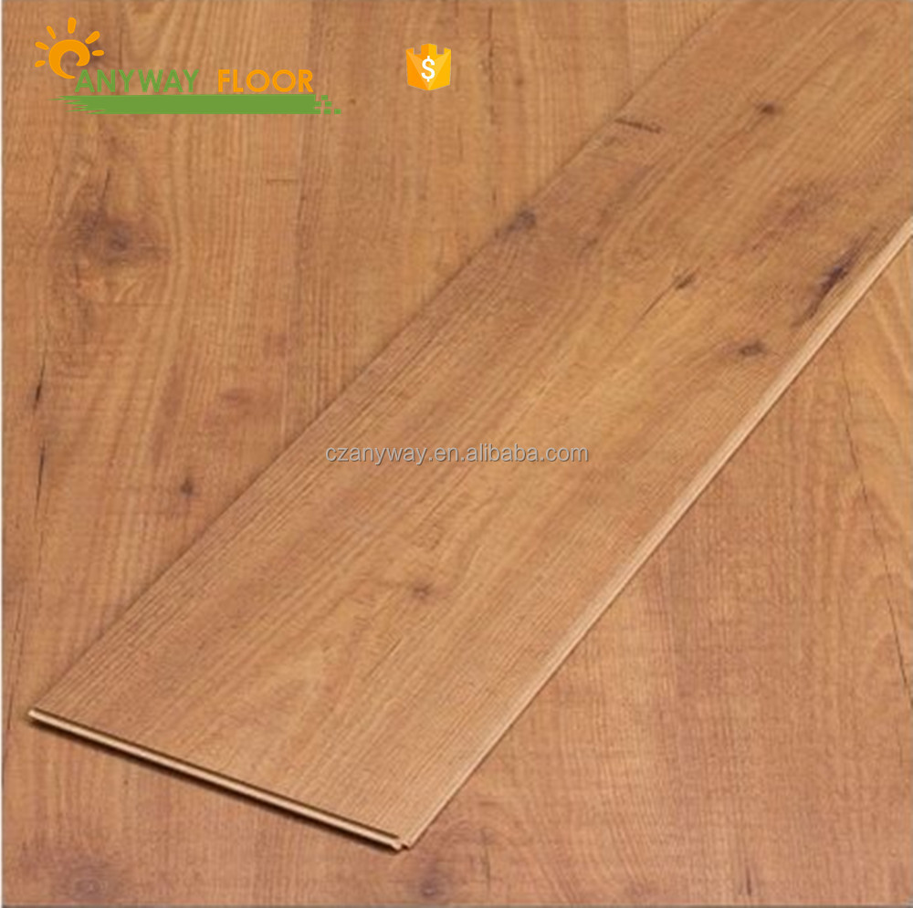 Top popular laminated wood flooring cheap for India