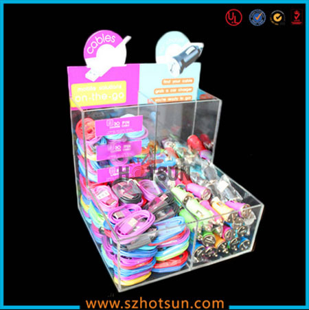 shenzhen hotsun manufacturer cell phone accessory display stand for retail store