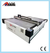 CNC Oscillating blade leather Cutter/Vibrating Knife Cutting Machine