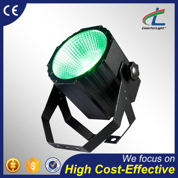 High power 80W 3in1/4in1 cob rgbw led par can stage light
