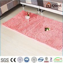 NEW 6 Color Cotton Acrylic Polyester PP wool carpet bath mat rug / Chenille mat-QINYI