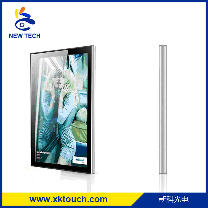 42 inch wall mount computer kiosk stand for public application