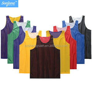 Custom men reversible wholesale blank basketball jerseys