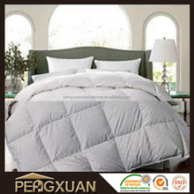 Unique comfortable down proof 233T fabric polyfiber filling king hotel quilt