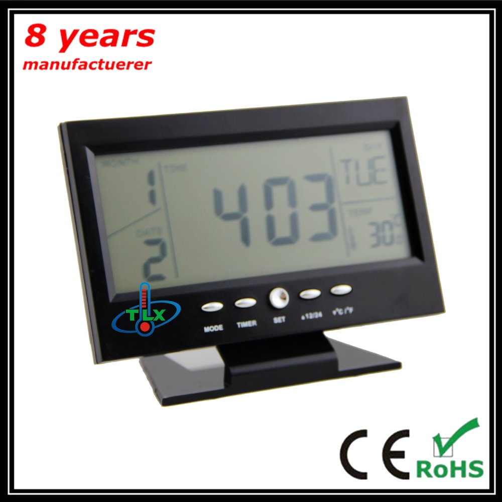 Multifunction LCD Clock /Time/ Thermometer/Timer /Electronic Calendar Function