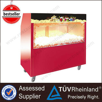 China Supplier Restaurant Equipment Hot Popped popcorn warmer