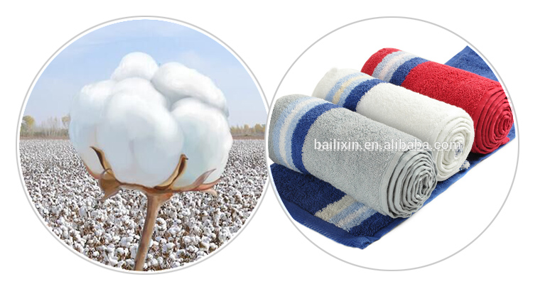Alibaba wholesale cheapest 100% cotton three color terry towels for bathroom