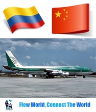 Cheap air shipping service to Colombia from Shenzhen Shanghai China