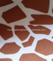 200D animal skin printed pvc coated oxford fabric
