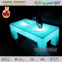acrylic waterfall cocktail table / coffe table (TP450)