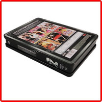 wholesale tin box factory small custom metal tin dvd case